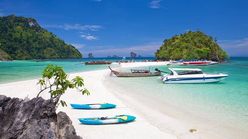 MESMERIZING THAILAND BEACHES
